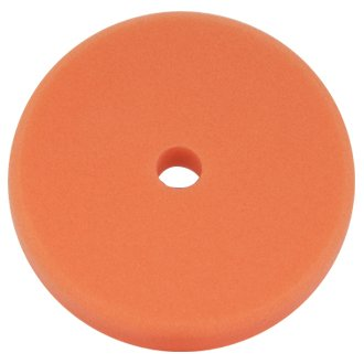 SCHOLL CONCEPTS ECO POLISHING PAD 145/25MM MEDIUM NARANJA