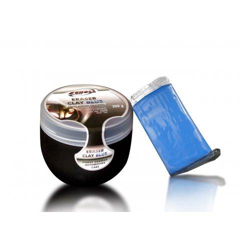 SCHOLL CONCEPTS KNET&CLEAN ERASER CLAY 200G. BLUE BOX