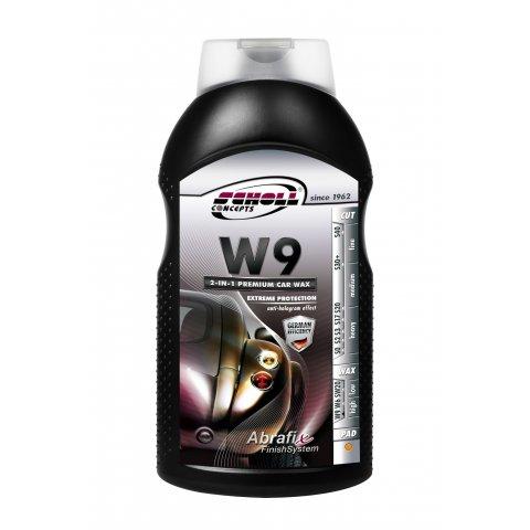 SCHOLL CONCEPTS W9 2 IN 1 PREMIUM GLAZE WAX